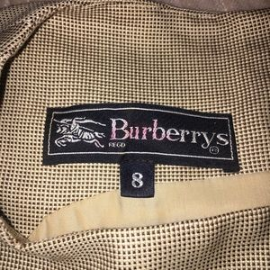 Burberry Tan Work Dress